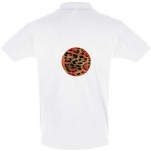 Koszulka Polo Lampart skóra - PrintSalon