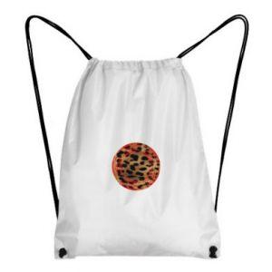 Backpack-bag Leopard skin