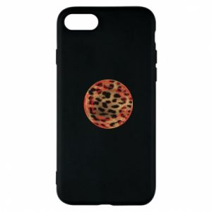 Etui na iPhone 8 Lampart skóra - PrintSalon