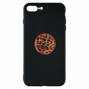 Etui na iPhone 8 Plus Lampart skóra - PrintSalon