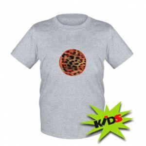 Kids T-shirt Leopard skin