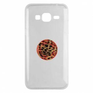 Phone case for Samsung J3 2016 Leopard skin