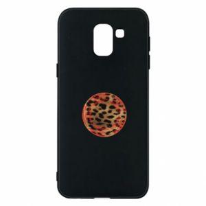 Phone case for Samsung J6 Leopard skin