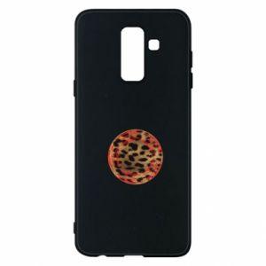 Phone case for Samsung A6+ 2018 Leopard skin