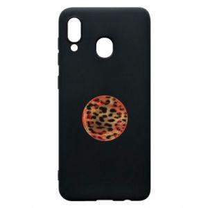 Phone case for Samsung A30 Leopard skin