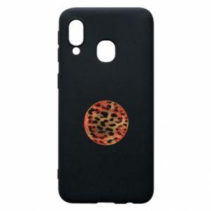 Phone case for Samsung A40 Leopard skin