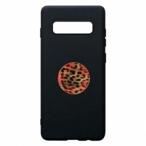 Phone case for Samsung S10+ Leopard skin