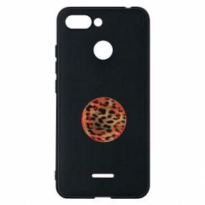 Phone case for Xiaomi Redmi 6 Leopard skin