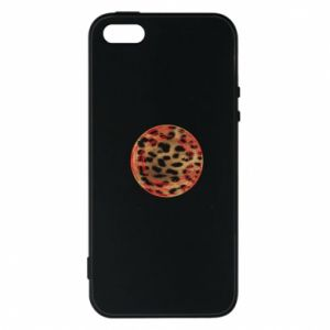 Phone case for iPhone 5/5S/SE Leopard skin