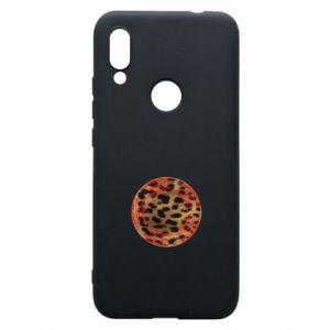 Phone case for Xiaomi Redmi 7 Leopard skin