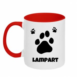 Two-toned mug Leopards trail