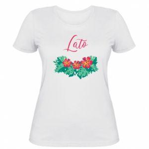 Women's t-shirt Summer