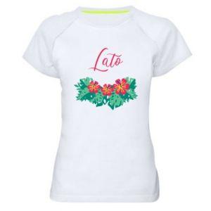 Women's sports t-shirt Summer