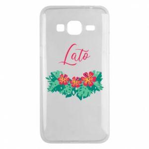Phone case for Samsung J3 2016 Summer