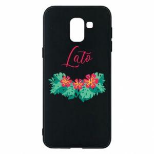Phone case for Samsung J6 Summer