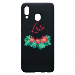 Phone case for Samsung A20 Summer