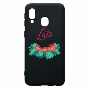 Phone case for Samsung A40 Summer