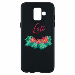 Phone case for Samsung A6 2018 Summer