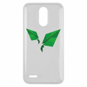 Etui na Lg K10 2017 Leaves abstraction