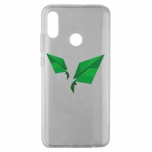 Etui na Huawei Honor 10 Lite Leaves abstraction