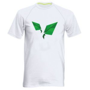 Men's sports t-shirt Leaves abstraction - PrintSalon