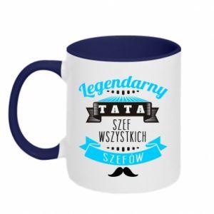 Two-toned mug Legendary dad