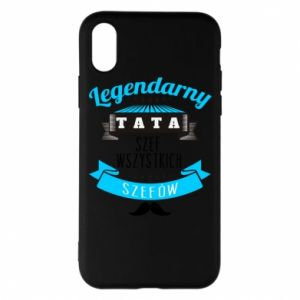Phone case for iPhone X/Xs Legendary dad