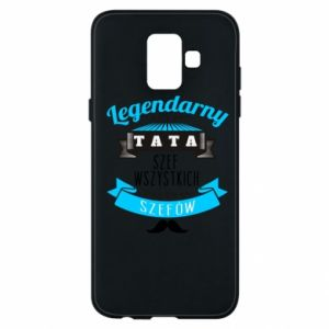Phone case for Samsung A6 2018 Legendary dad