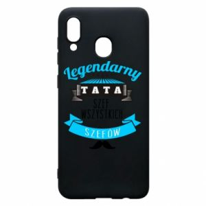 Phone case for Samsung A20 Legendary dad