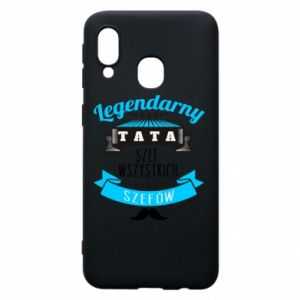 Phone case for Samsung A40 Legendary dad