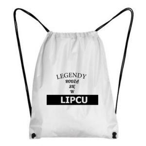 Plecak-worek Legendy rodzą się w lipcu