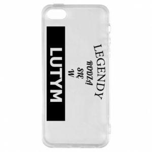 Etui na iPhone 5/5S/SE Legendy rodzą się w lutym