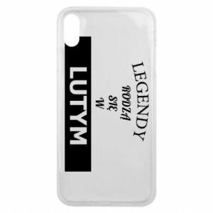 Etui na iPhone Xs Max Legendy rodzą się w lutym