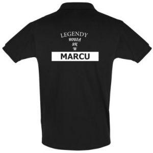 Koszulka Polo Legendy rodzą się w marcu