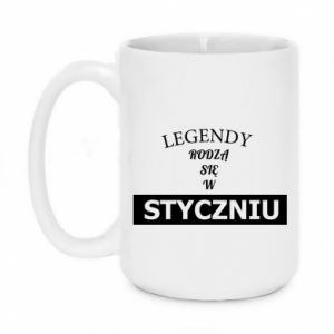 Mug 450ml Legends are born in January