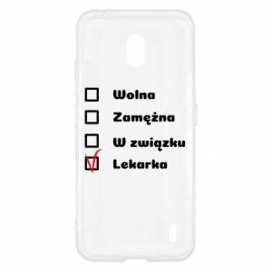 Etui na Nokia 2.2 Lekarka