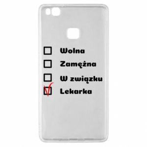 Etui na Huawei P9 Lite Lekarka