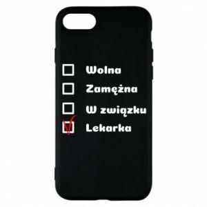 Etui na iPhone 8 Lekarka