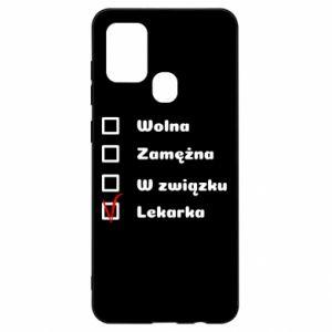 Etui na Samsung A21s Lekarka