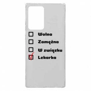 Etui na Samsung Note 20 Ultra Lekarka