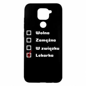 Etui na Xiaomi Redmi Note 9/Redmi 10X Lekarka