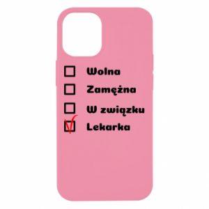 Etui na iPhone 12 Mini Lekarka