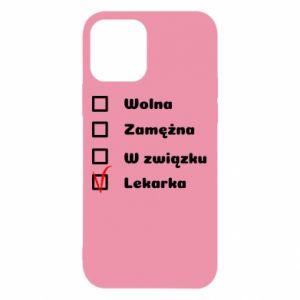 Etui na iPhone 12/12 Pro Lekarka