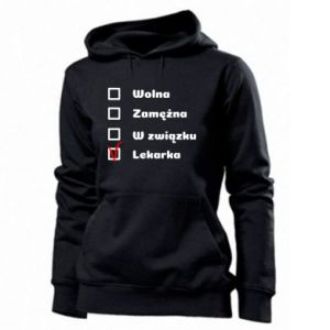 Women's hoodies Doctor - woman - PrintSalon