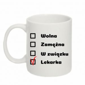 Mug 330ml Doctor - woman - PrintSalon