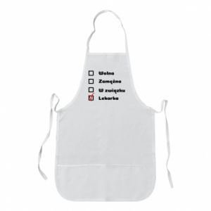 Apron Doctor - woman - PrintSalon