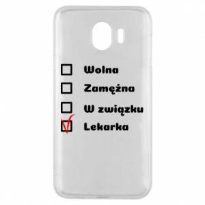 Etui na Samsung J4 Lekarka