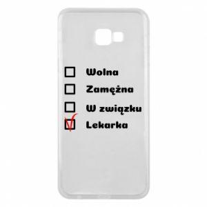 Etui na Samsung J4 Plus 2018 Lekarka
