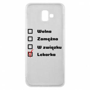 Etui na Samsung J6 Plus 2018 Lekarka