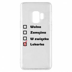 Etui na Samsung S9 Lekarka